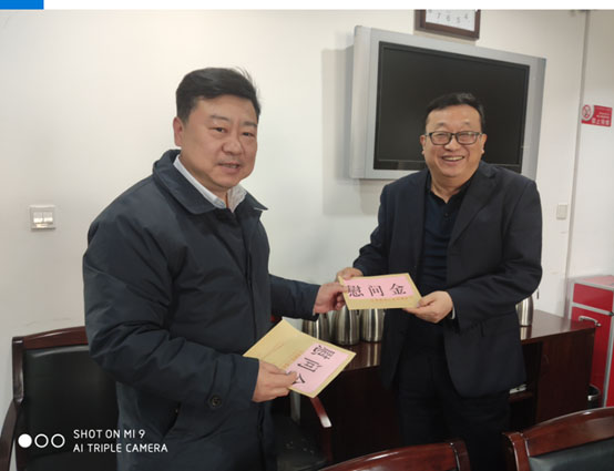连云港市统计局慰问市劳模